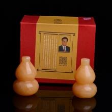 【集雅轩】正品家居风水摆件平安转运金葫芦 客厅办公室乔迁开业礼品