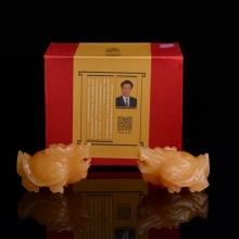 【集雅轩】正品家居风水摆件招财辟邪龙龟 客厅办公室乔迁开业礼品